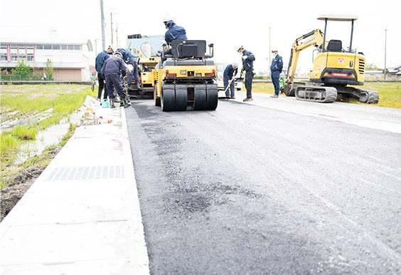 道路舗装・公共施設の舗装